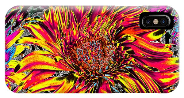 Flower Power II IPhone Case