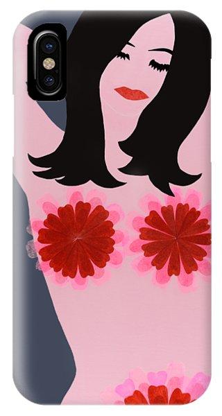 Flower Power - Pink IPhone Case