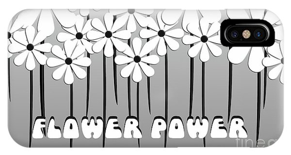 Flower Power - White  IPhone Case