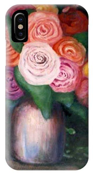 Flower Spirals IPhone Case