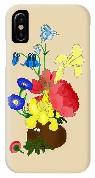 Floral Still Life 1674 IPhone Case