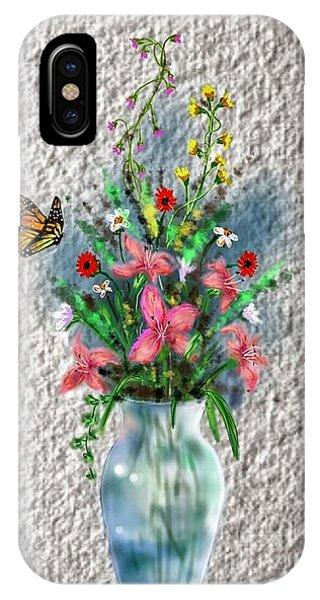 Flower Study Three IPhone Case