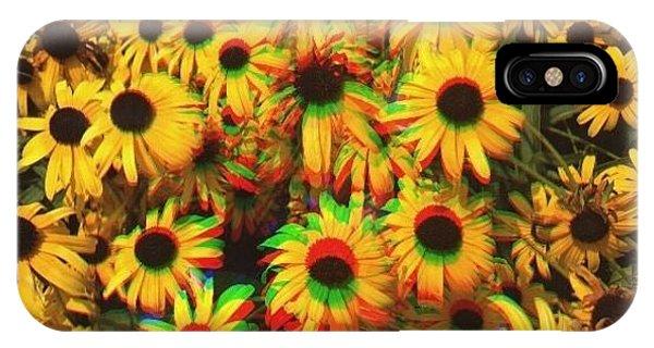 Edit iPhone Case - Flower Trip by Annie Walczyk