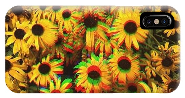 Edit iPhone Case - Flower Trip by Annie Walczyk