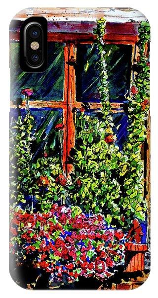 Flower Window IPhone Case