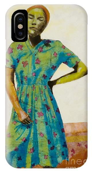 iPhone Case - Flowered Dress by Andrea Benson