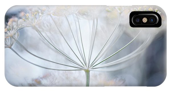 IPhone Case featuring the photograph Flowering Dill Details by Elena Elisseeva