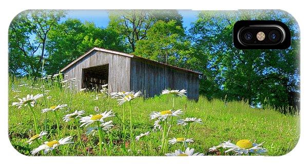 Flowering Hillside Meadow IPhone Case