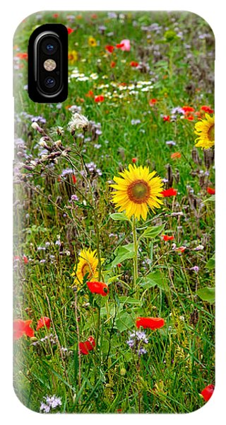 Flowering Meadow IPhone Case