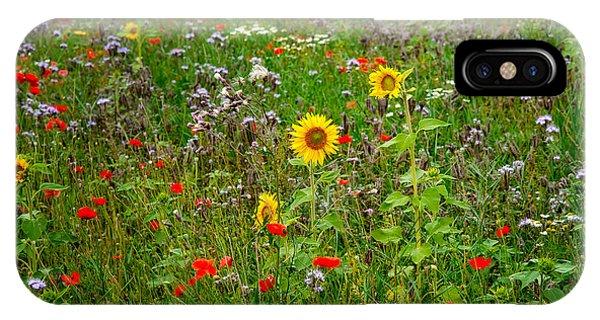 Flowering Meadow IPhone Case