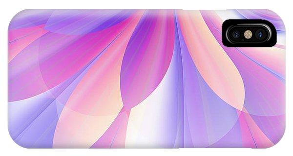 Flowering Pastel IPhone Case