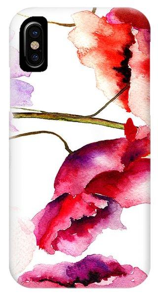 Flowers 02 IPhone Case