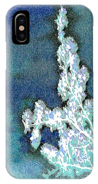 Flowers And Ice IPhone Case