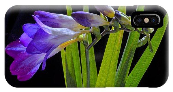 Flowers Backlite. IPhone Case