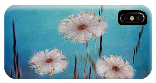 Fractal Landscape iPhone Case - Flowers For Eternity 2 by Klara Acel