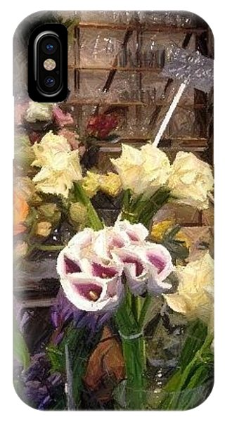 Flowers For Patty IPhone Case