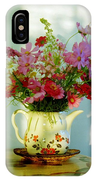 Flowers In A Teapot IPhone Case