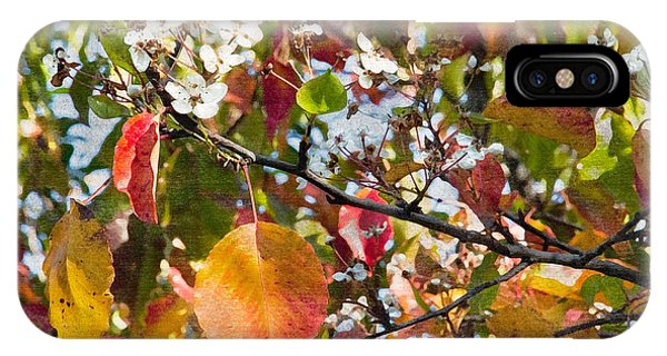 Flowers In Pear Tree Digital Art Phone Case by Sherry  Curry
