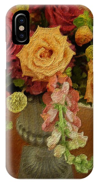 Flowers In Vase IPhone Case