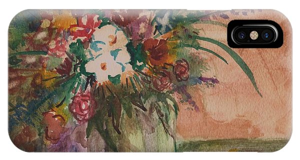 Flowers In Vases 2 IPhone Case