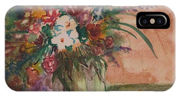 Flowers In Vases 2 IPhone Case