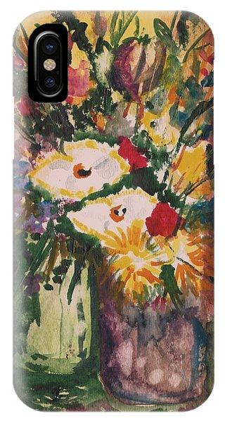 Flowers In Vases IPhone Case