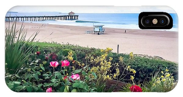Flowers Of Manhattan Beach IPhone Case