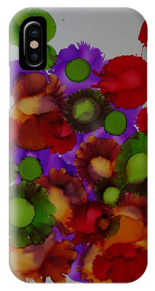 Flowers Of Paradise # 66 IPhone Case