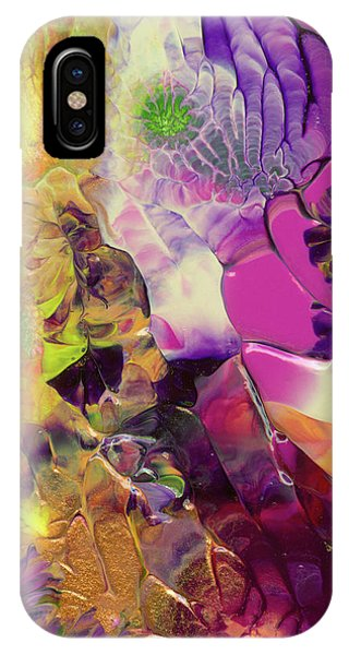 Flowers Of The Cosmic Sea IPhone Case