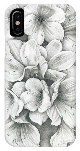 Clivia Flowers Pencil IPhone Case