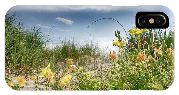 Flowery Dunes IPhone Case