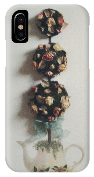 Flowery Teapot IPhone Case