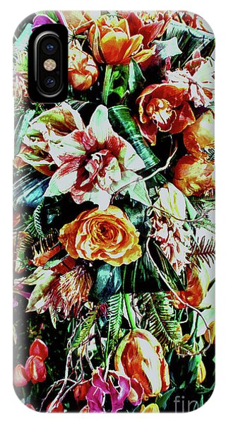 Flowing Bouquet IPhone Case