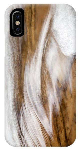 Under Water iPhone Case - Flowing Free by Az Jackson