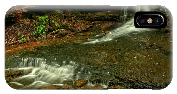 Somerset County iPhone Case - Flowing Through The Forbes State Forest by Adam Jewell