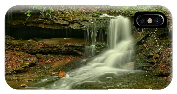 Somerset County iPhone Case - Flowing To The Side by Adam Jewell