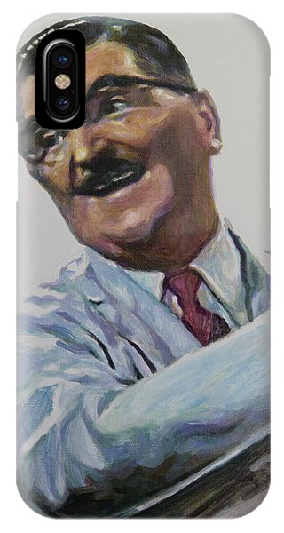 Floyd The Barber In Color IPhone Case