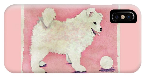 Fluffy Pup IPhone Case