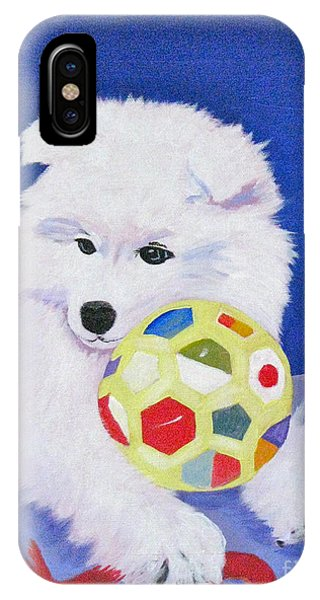 Fluffy's Portrait IPhone Case