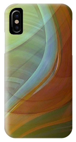IPhone Case featuring the digital art Fluidity by David Manlove