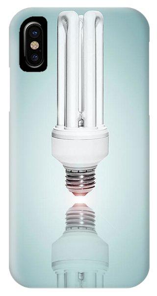 Fluorescent Light Bulb IPhone Case