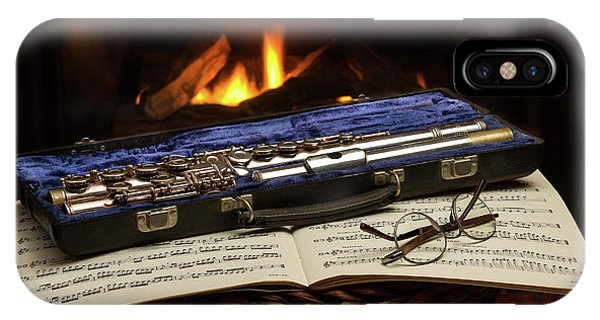 Flute Still Life IPhone Case