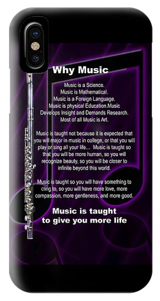 Flute Why Music Photographs Or Pictures For T-shirts 4824.02 IPhone Case