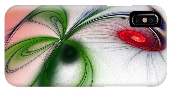 Flutter Phone Case by Sandra Bauser Digital Art
