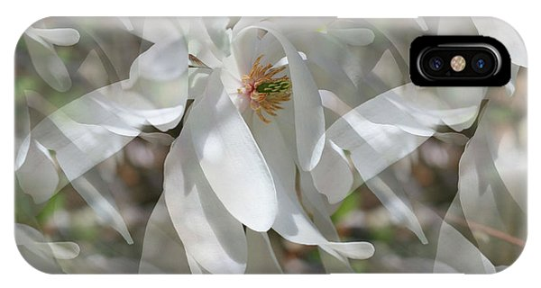 Fluttering Magnolia Petals IPhone Case