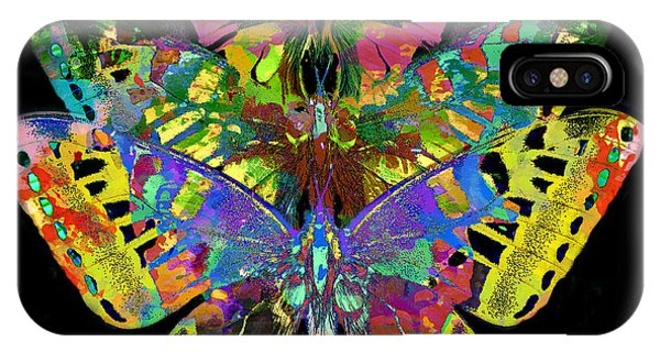 IPhone Case featuring the digital art Fly Away 2017 by Kathryn Strick