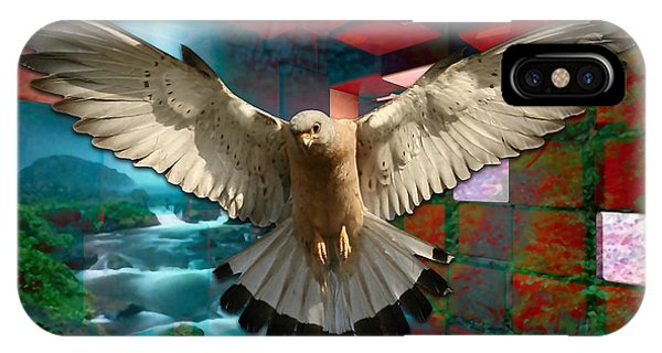 Eagle iPhone Case - Fly From Here by Marvin Blaine