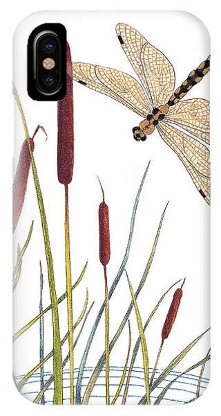 Fly High Dragonfly IPhone Case