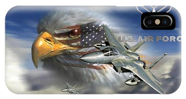 Fly Like The Eagle IPhone Case