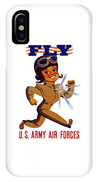 Political iPhone Case - Fly - Us Army Air Forces by War Is Hell Store